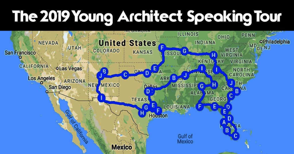 The 2019 Young Architect Speaking Tour