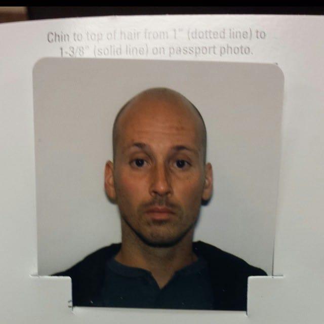 Michael Riscica Passport Photo