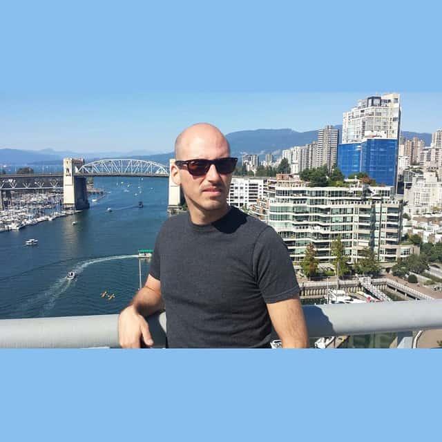 Michael Riscica in Vancouver BC