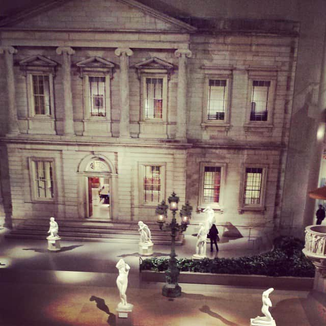 Metropolitan Museum of Art - The American Wing is where I like to hang out.