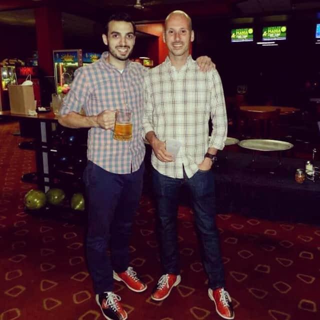 Michael Riscica and Lukas Argyros