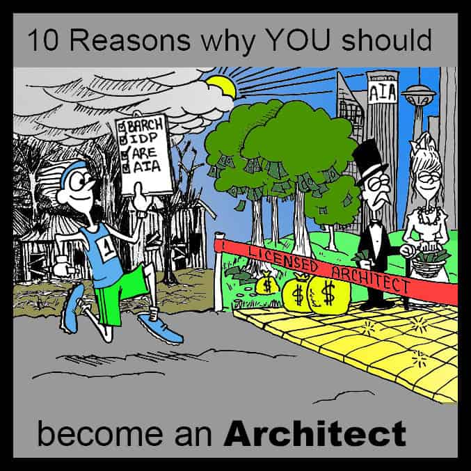 Reasons to become an Architect