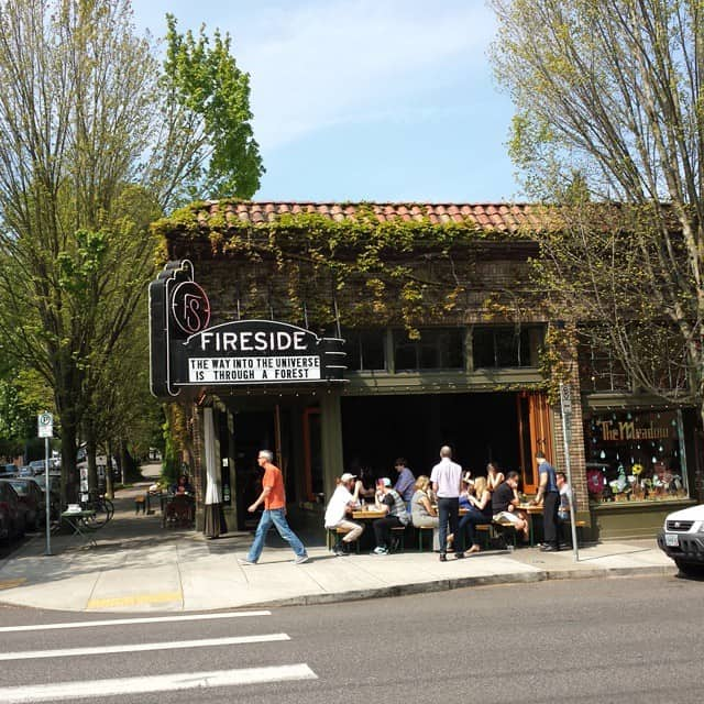 Fireside - small cafe in Portland