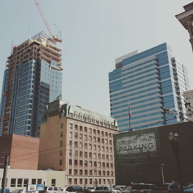Big buildings in Portland