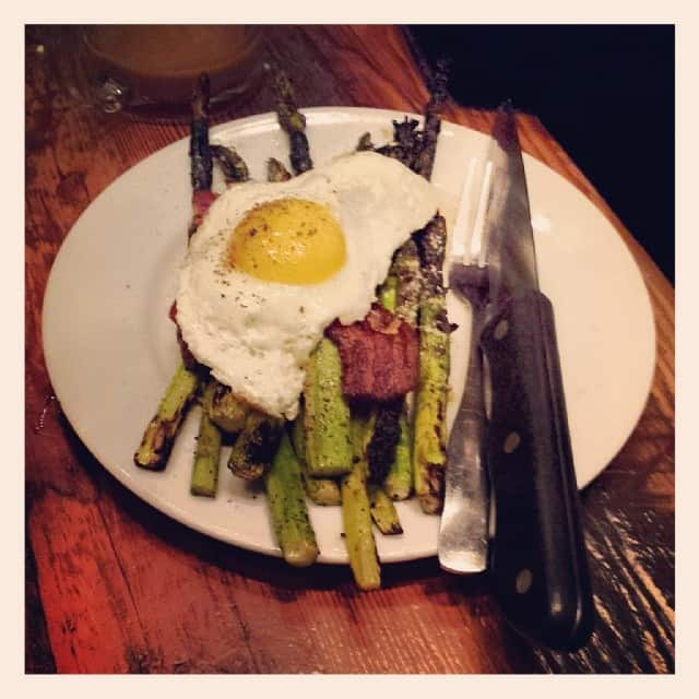 Asparagus from Tasty and sons in portland oregon