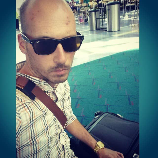 Michael Riscica vacation with #PDXCarpet