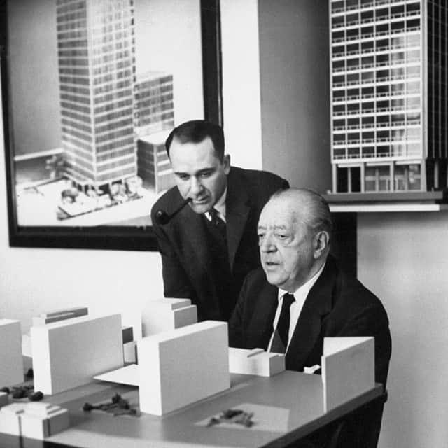 The Original Gangster #miesvanderrohe #architecture#architect #mies #boss #lording #techtonics