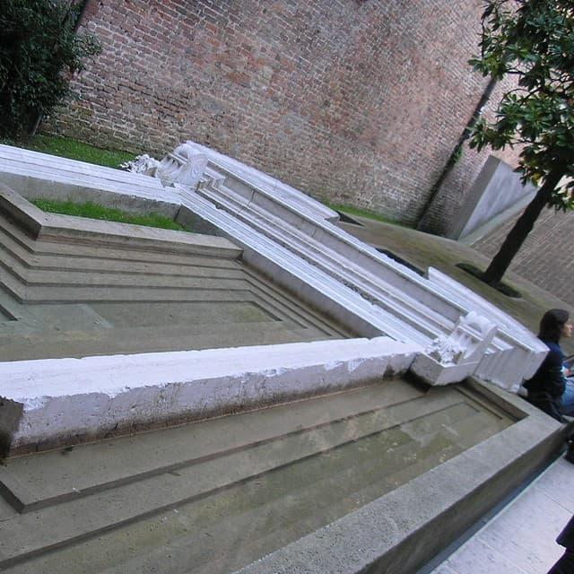 Carlo Scarpo design at the Venetian University