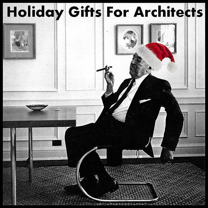 Be Santa for an upcoming architect