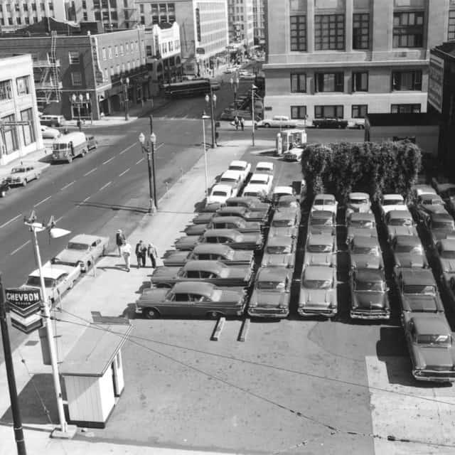 A parking lot snapshot