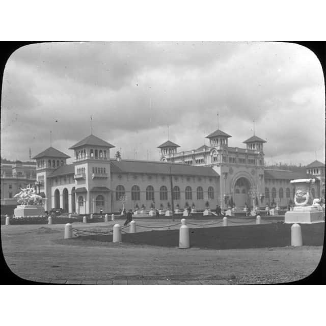 A picture from 1905 Lewis and Clark Exposition in Northwest Portland