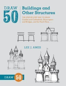 Draw 50 buildings