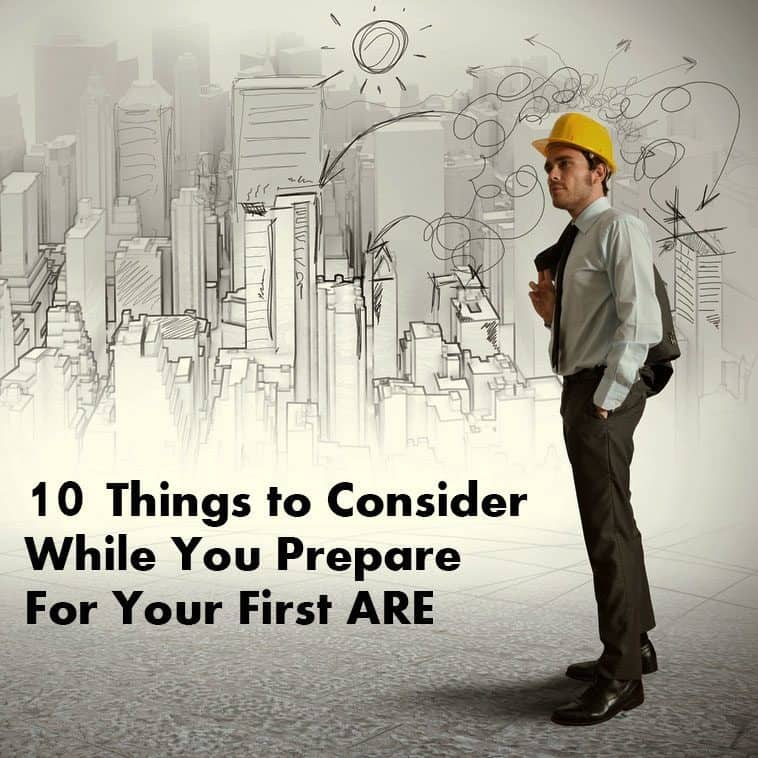 10 Things to Consider While You Prepare for Your First Architect Exam