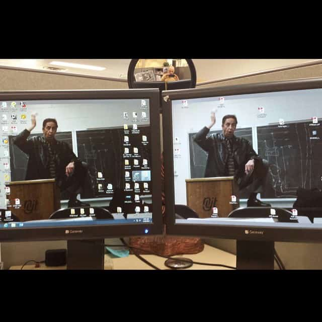 New desktop wallpaper on double monitors