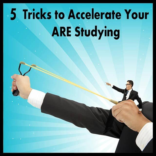 Check out 5 essential tips to accelerate your ARE studying!