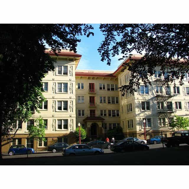 Beautiful Portland apartment complex