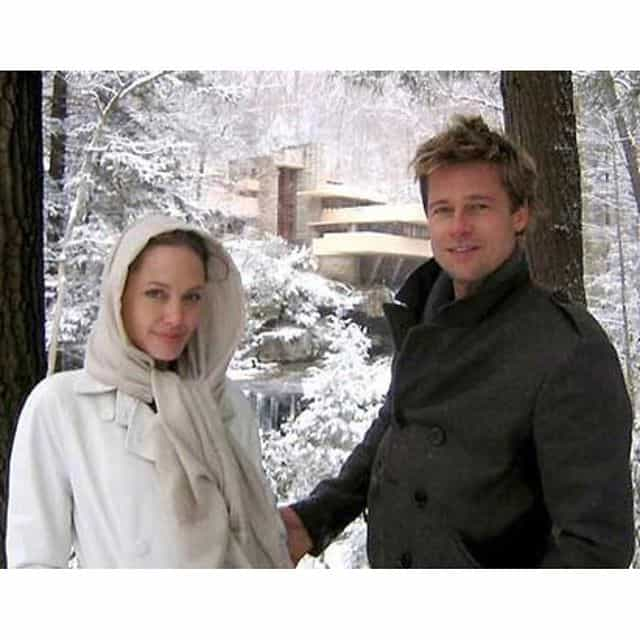 Brad and Angelina at Fallingwate