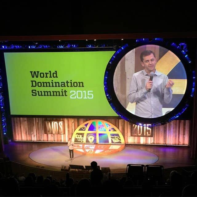 World Domination Summit 2015 stage picture