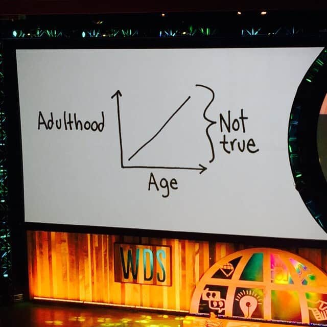Graphic about adulthood