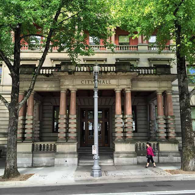 Portland City Hall building