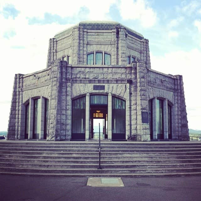 Vista House at the Columbia River Gorge