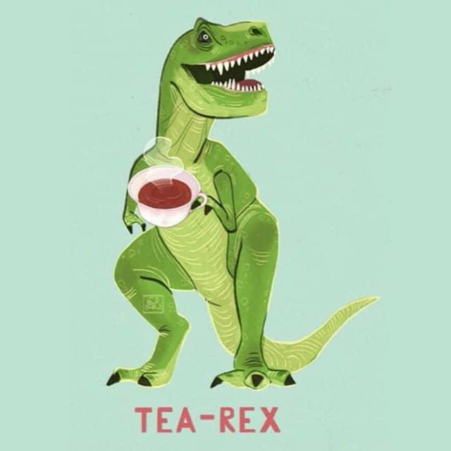 T(ea)-rex meme