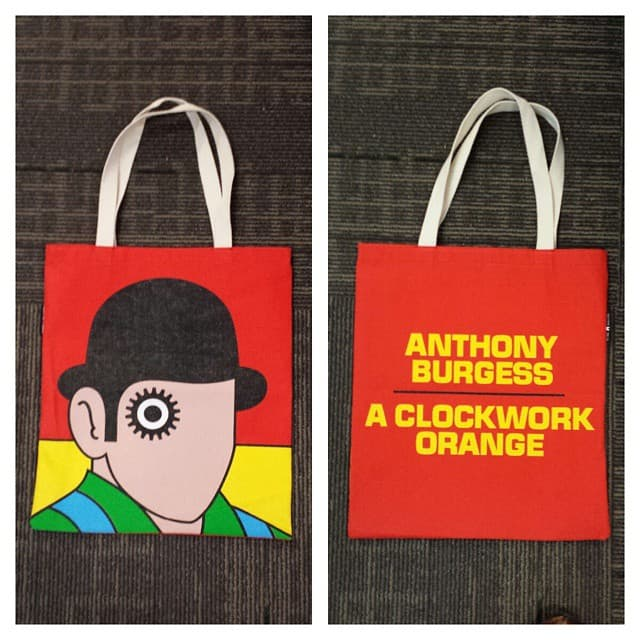 A clockwork orange bag