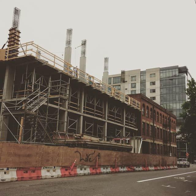 New Portland construction
