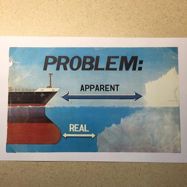 Problem: Real vs. Apparent