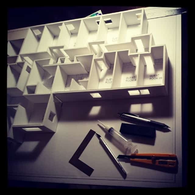 Architectural Model for a client