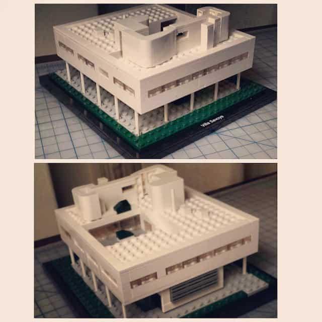 Villa Savoye Lego