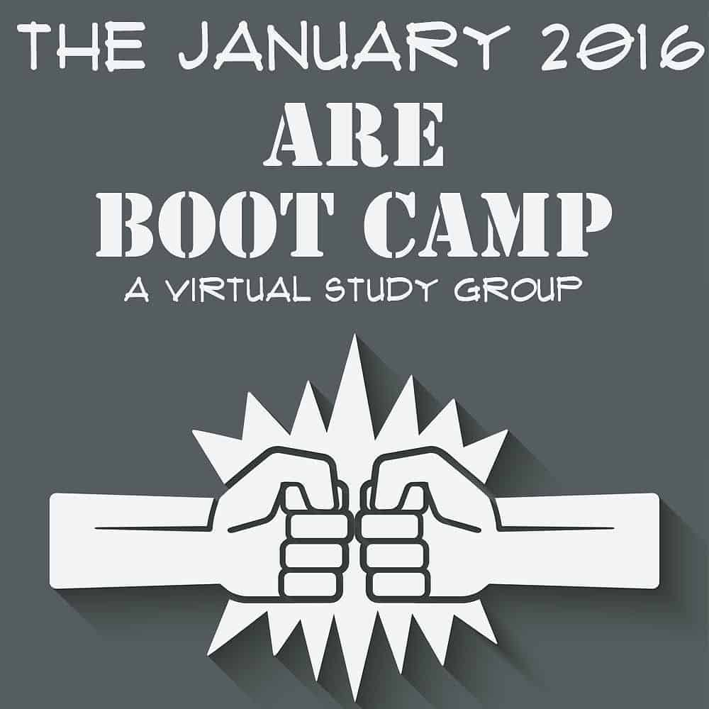 January 2016 ARE Boot Camp