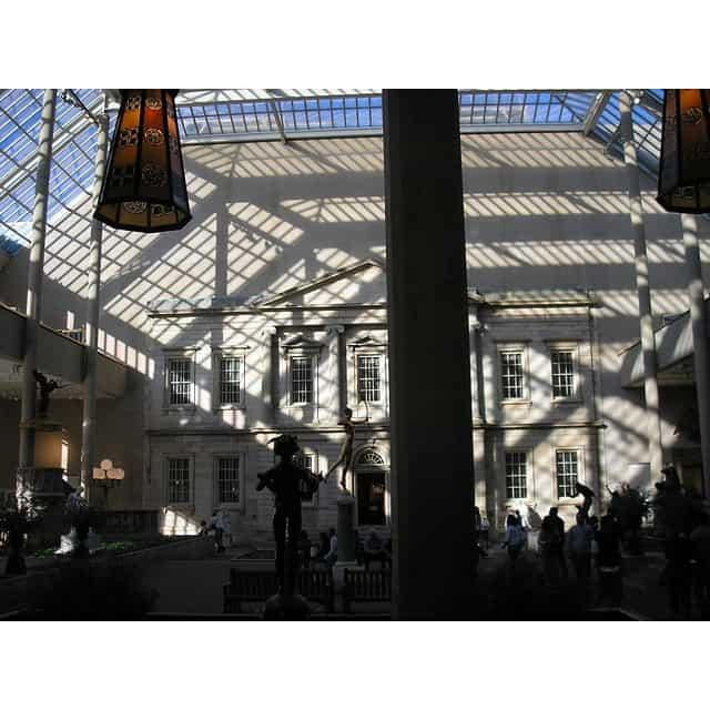 American Wing in the Met