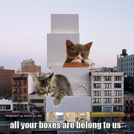 SANAA Kitty Box