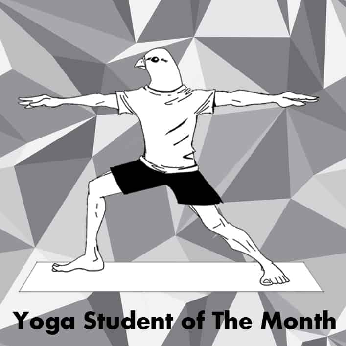 Yoga Student of the month