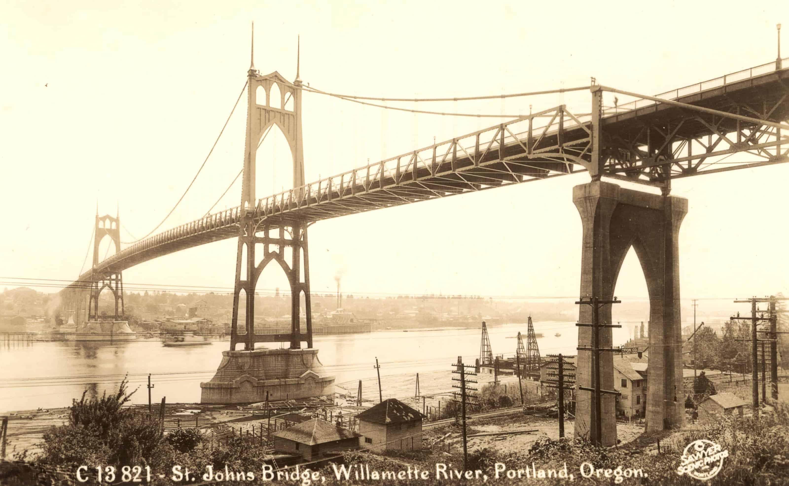 St. Johns Bridge 1937