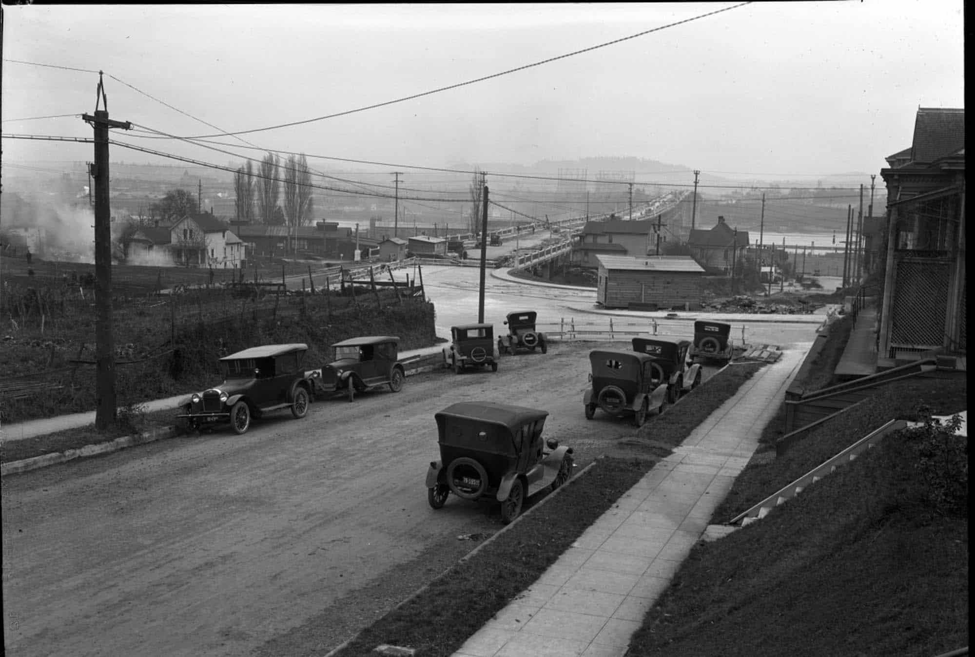 Ross Island Bridge 1925