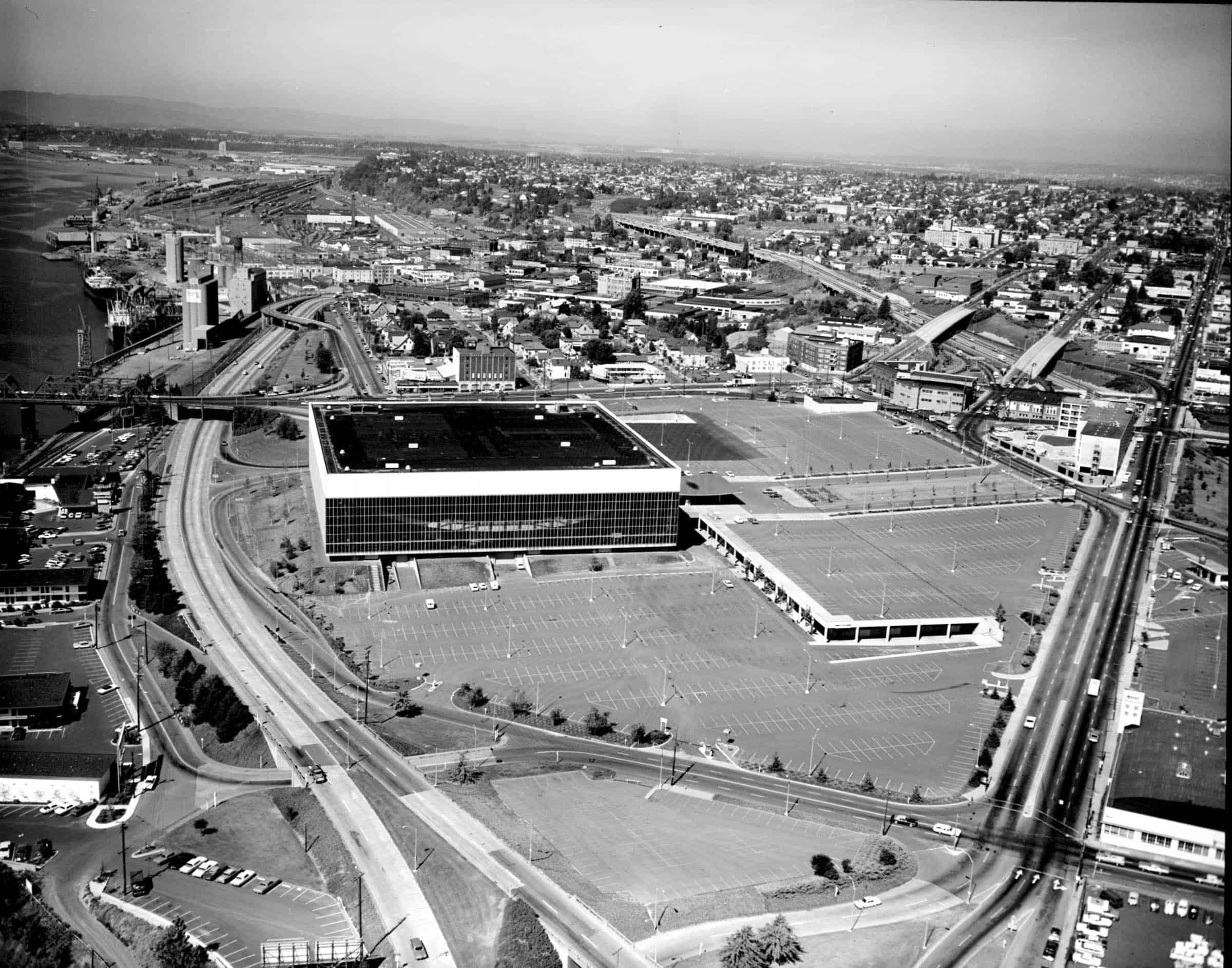 Veterans Memorial Coliseum 1969