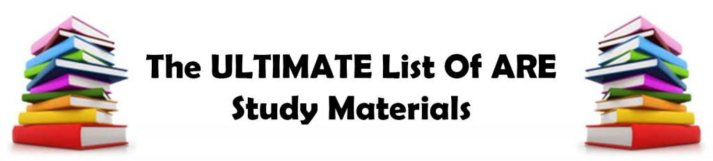banner - Ultimate List of ARE Study Material for the Architecture Registration Exam