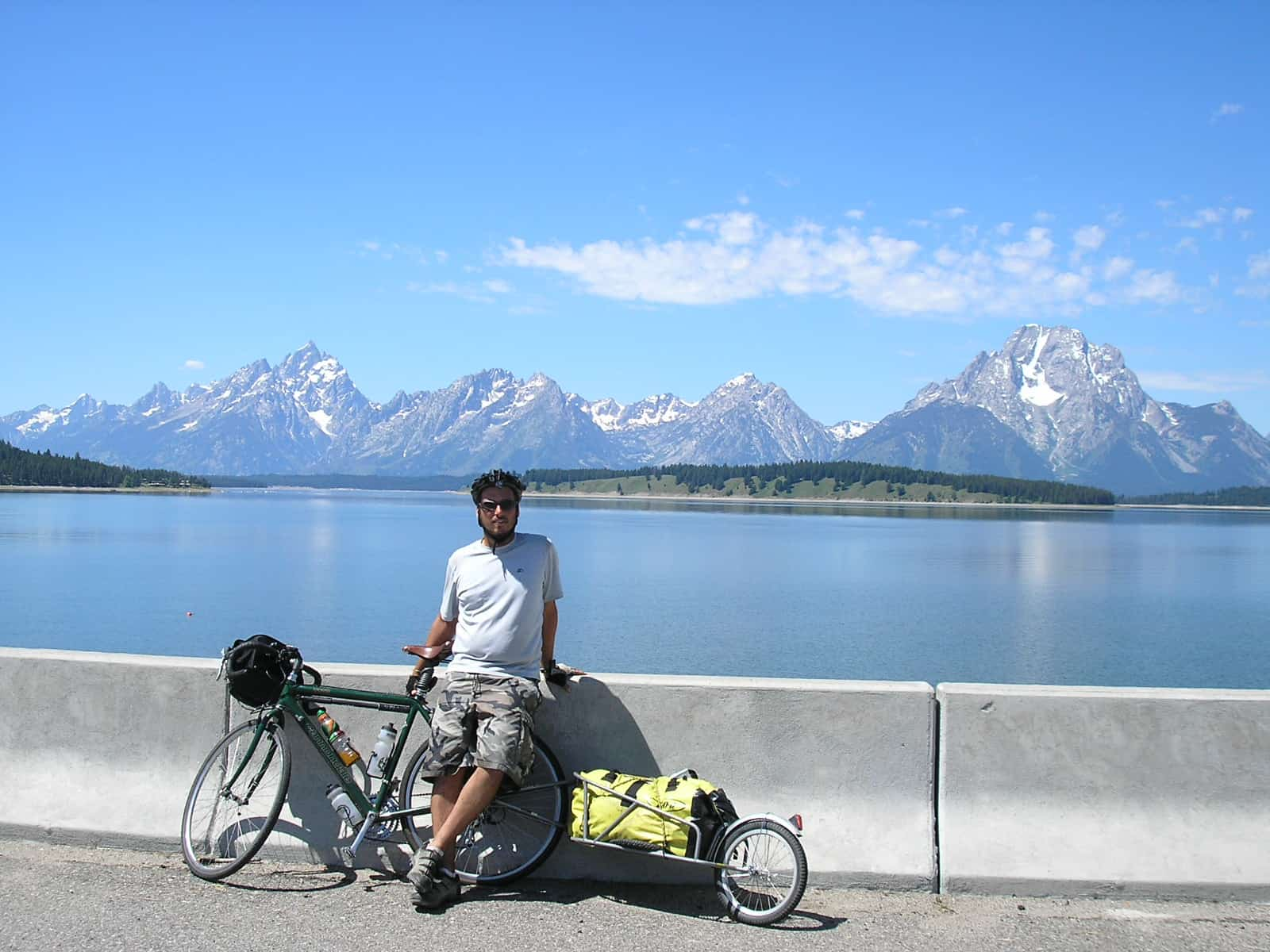 picture of michael riscica and the grand tetons