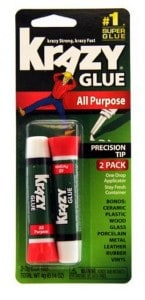 Picture of Krazy glue for Architecture model building