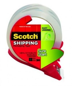 Picture of shipping tape for Architecture model building