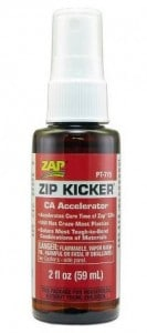 Picture of zap-a-gap glue for Architecture model building